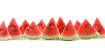 Water melon slices Royalty Free Stock Photos