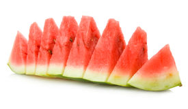 Water melon slices Stock Photo