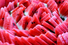 Water melon slices Royalty Free Stock Image