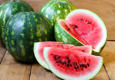 Water melon slices Royalty Free Stock Photography
