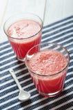 Water melon smoothie Stock Photo