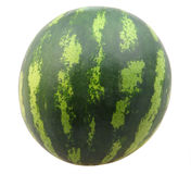Water melon on white Stock Photo