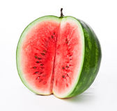 Water-melon on a white background Stock Photography