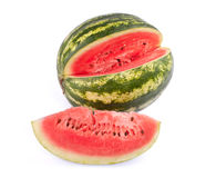 Water melon. On white background Royalty Free Stock Image