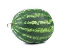 Water melon on a white background Stock Photo