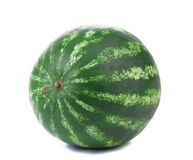 Water melon on a white background. Isolated. Royalty Free Stock Images
