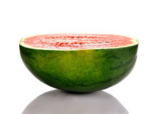 Water melons isolated on white background Royalty Free Stock Images