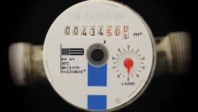 Water meter gauge Royalty Free Stock Photo