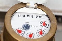 Water meter Royalty Free Stock Images