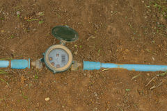 Water meter. Stock Photo