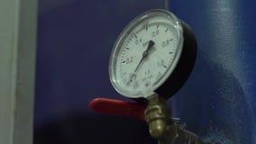 Water Meter Pressure stock footage