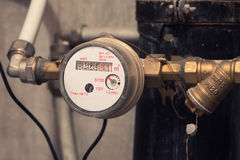 Water meter Stock Photography