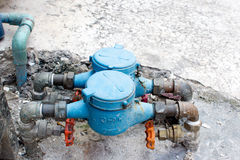 Water-meters Stock Photos