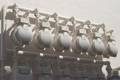 Water Meters Royalty Free Stock Photos