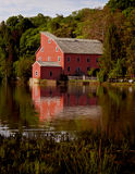 Hunterdon county new jersey water  mill Stock Photos