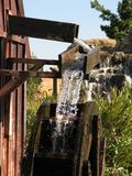 Water Mill. Grist mill or water wheel Royalty Free Stock Photos