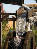 Water Mill. Grist mill or water wheel Stock Image