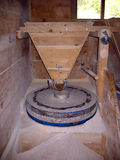 Water mill. Detail of old wooden water mill royalty free stock photography