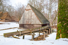 Water Mill With Aqueduct Stock Image