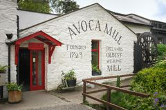 Water Mill. Avoca. Wicklow. Ireland Royalty Free Stock Photography