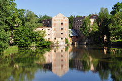 Water mill,Breclav,Czech republic Royalty Free Stock Photo