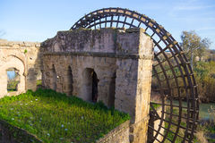 The Water Mill at Cordoba, Spain. Ancient water mill at Cordoba, Spain Stock Image