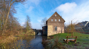 Water mill in Dorsten-Deuten, germany royalty free stock photos
