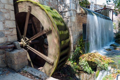 Water mill in Greece Royalty Free Stock Photo