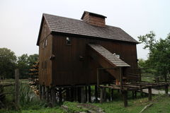Water mill in Jelka, on Little Danube river Royalty Free Stock Photos