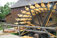 Water mill in Jelka, on Little Danube river Stock Photography