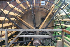 Water mill in Jelka, on Little Danube river Stock Photos