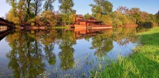 Water mill in Kolarovo Stock Image