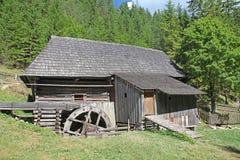 Water mill at Kvacianska dolina - valley in region Liptov, Slova Stock Photo