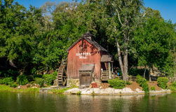 Water Mill in Magic Kingdom Royalty Free Stock Image