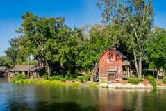 Water Mill in Magic Kingdom Royalty Free Stock Photography