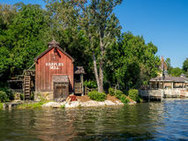 Water Mill in Magic Kingdom Royalty Free Stock Photos