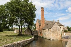 Water Mill Museum at Lower Slaughter stock images