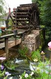 Water mill in Normandy Stock Image
