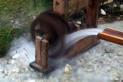 Water mill. An old  working water mill Royalty Free Stock Image