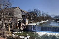 Water Mill in Pigeon Forge, Tennessee Royalty Free Stock Photo
