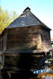 Water Mill in Romanian Peasant Museum in Dumbrava Sibiului, Transylvania Royalty Free Stock Images