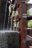 Water mill wheel Stock Photography
