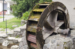 Water mill wheel Stock Images