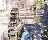 Water mills wheel Royalty Free Stock Image