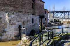 Water-mills Zamora Royalty Free Stock Photos