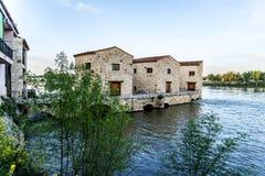 Water-mills Zamora Stock Photos