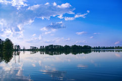 Water mirror of the lake Royalty Free Stock Images