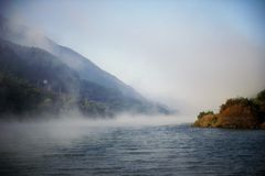 Water, Mist, Nature, Body Of Water Royalty Free Stock Photography