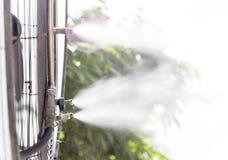Water mister fan Stock Photo