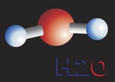 Water molecule Stock Photos